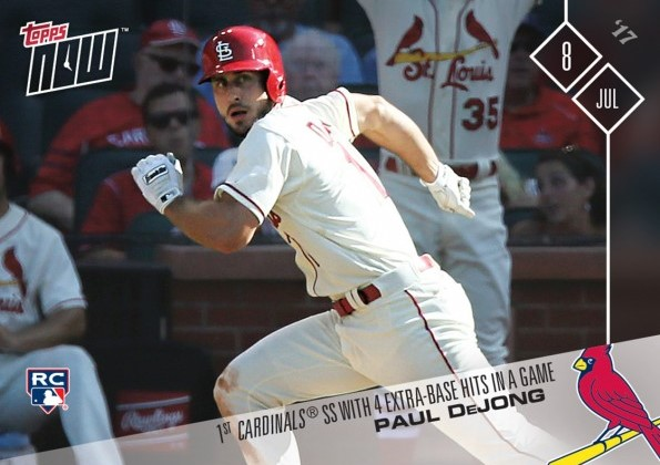 Cards Dejong Named To 2017 Topps All Star Rookie Team St